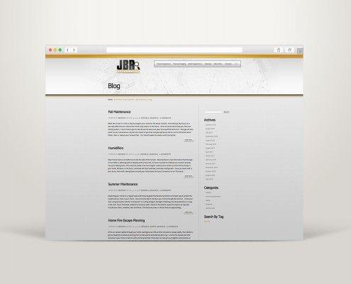 Edmonton Website Design | JBR Inspections Website