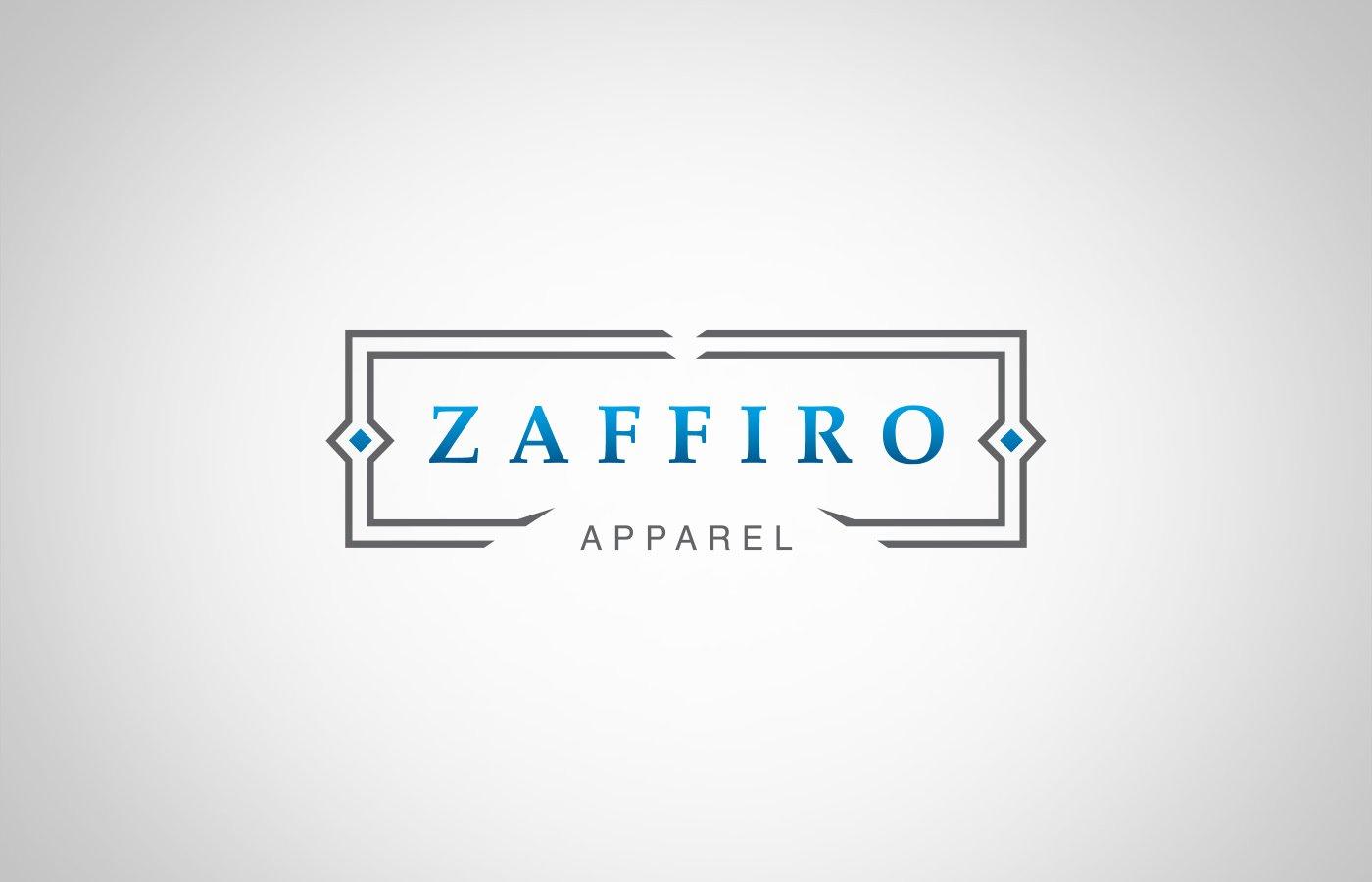 Edmonton Graphic Design | Zaffiro Apparel Logo