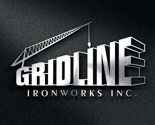 Edmonton Graphic Design | Gridline Ironworks Logo