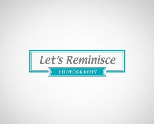 Edmonton Graphic Design | Let's Reminisce Logo