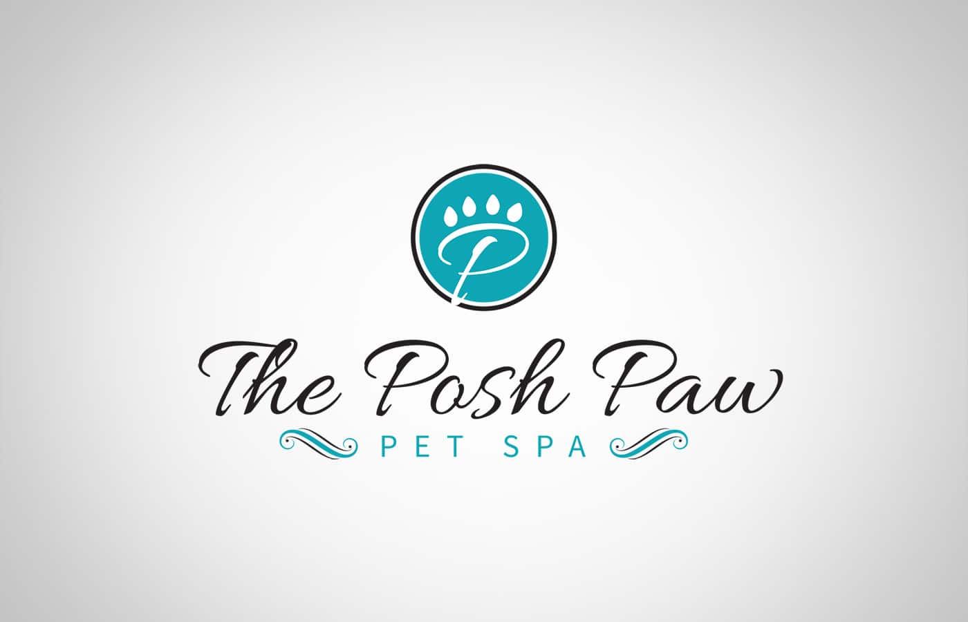 Edmonton Graphic Design | The Posh Paw Pet Spa Logo
