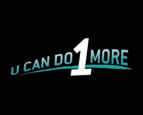 Edmonton Graphic Design | U Can Do 1 More Logo