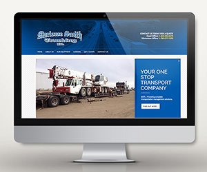 Edmonton Website Design | Marlowe Smith Trucking
