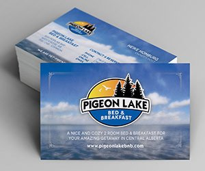 Edmonton Graphic Design | Pigeon Lake Bed and Breakfast