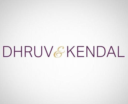 Edmonton Graphic Design   Dhruv and Kendal Logo