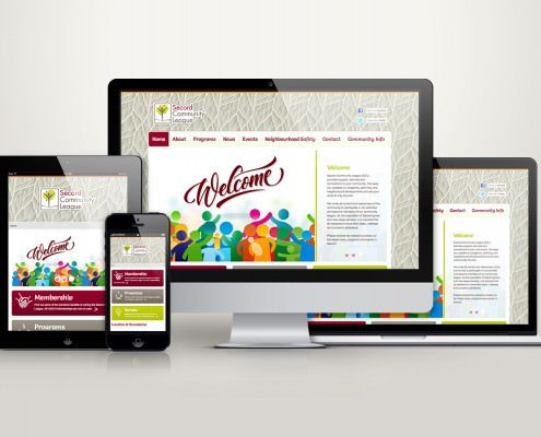 Edmonton Website Design | Secord Community League Website
