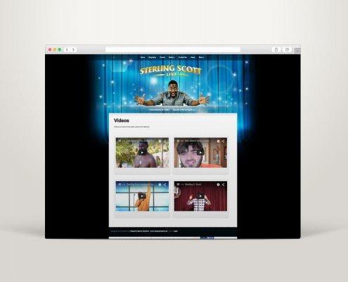 Edmonton Website Design | Sterling Scott Website