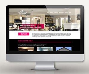 Edmonton Website Design   Tomboy Construction