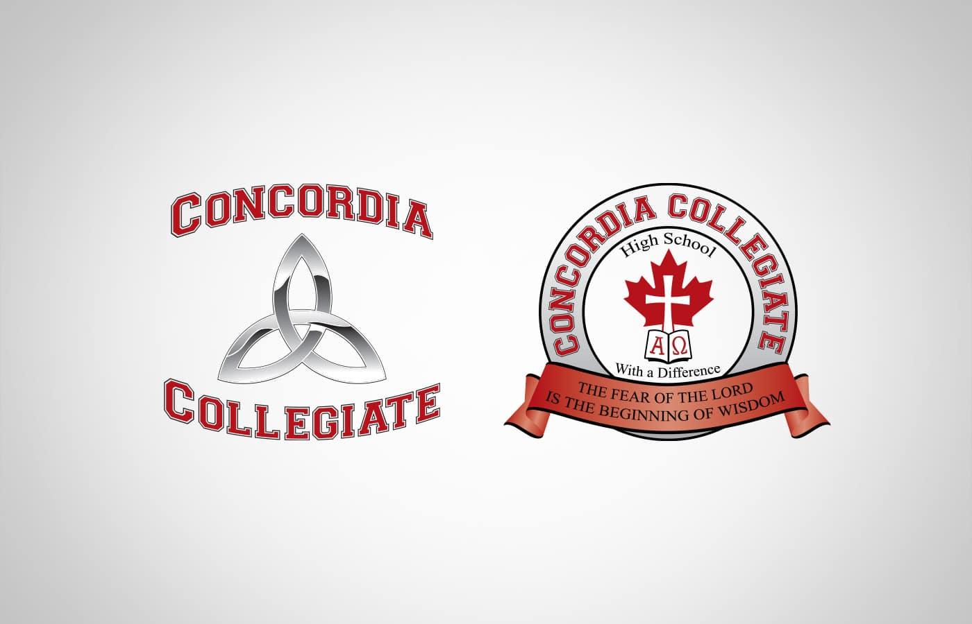 Edmonton Graphic Design | Concordia Collegiate High School Logo