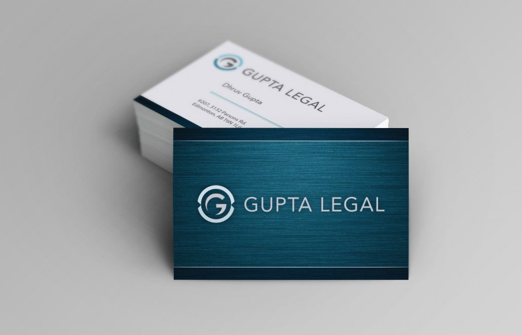 Edmonton Graphic Design, Hotspot Creative Solutions - Gupta Legal