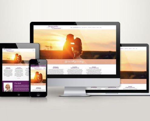 Edmonton Website Design | Storycatcher Ceremonies Website