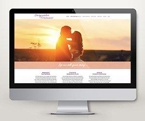 Edmonton Website Design   Storycatcher Ceremonies Website